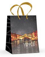 """Пакет бумажный подарочный """"Венеция"""" (13,7x11,1x6,2 см)"""