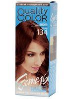 """Гель-краска для волос """"Эстель. Quality Color"""" (тон: 134, коньяк)"""