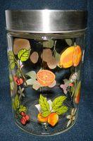 Банка для сыпучих продуктов стеклянная (1,2 л)