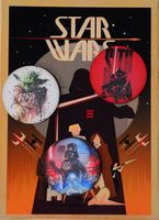 "Набор значков маленьких ""Star Wars"" (арт. 604)"