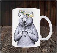"""Кружка """"Медведь с любовью"""" (art. 66)"""