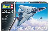 """Сборная модель """"Палубный истребитель F-14D Super Tomcat"""" (масштаб: 1/100)"""