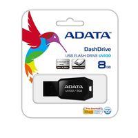 USB Flash Drive 8Gb A-Data UV100 (Black)