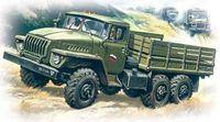 Армейский грузовой автомобиль Урал 4320 (масштаб: 1/72)