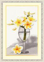 """Вышивка крестом """"Тайский цветок"""""""
