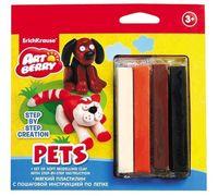 "Пластилин ""Pets. Step-by-step Сreation"" (4 цвета)"