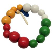 """Шнуровка """"Цветные шары"""""""