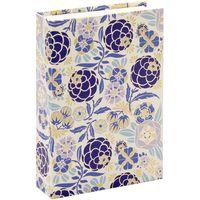"Подарочная коробка ""Liberty Flowers"" (10,5х16х3,5 см; синие элементы)"