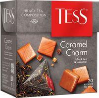 """Чай черный """"Tess. Caramel Charm"""" (20 пакетиков)"""