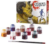 """Краски акриловые """"Citadel Base. Paint Set"""" (11 цветов)"""