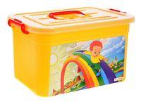 """Ящик для хранения с крышкой """"Радуга"""" (10 л)"""