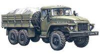 Армейский грузовой автомобиль Урал 375Д (масштаб: 1/72)