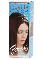 """Гель-краска для волос """"Эстель. Quality Color"""" (тон: 142, каштан)"""