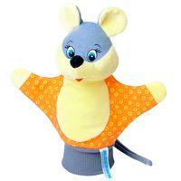 """Мягкая игрушка """"Кукла на руку. Мышка"""""""