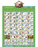"""Интерактивный плакат """"Первая Азбука. Учим с Машей и Медведем"""""""