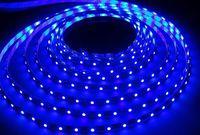 Лента светодиодная LED SMD 2835/60 IP65-4.8W/Blue (5 м)