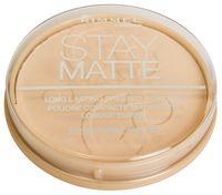 """Компактная пудра для лица матирующая """"Stay Matte"""" тон: 001, прозрачный"""