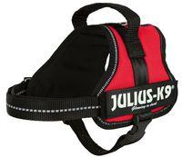 """Шлея тренировочная для щенков """"Julius-K9"""" (Mini-Mini/S; 40-53 см; красная)"""