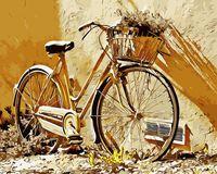 "Картина по номерам ""Велосипед"" (400х500 мм)"