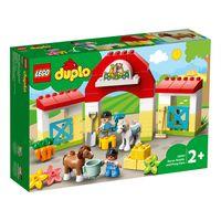 "LEGO Duplo ""Конюшня для лошади и пони"""