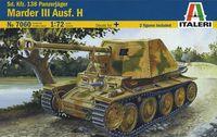 "Сборная модель ""Sd.Kfz.138 Panzerjäger Marder III Ausf. H"" (масштаб: 1/72)"