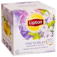 "Фиточай ""Lipton. Time to Relax"" (20 пакетиков)"