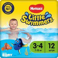 "Подгузники для плавания ""Little Swimmers 3-4"" (7-15 кг; 12 шт.)"