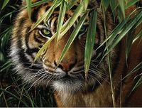 """Картина по номерам """"Тигр"""""""