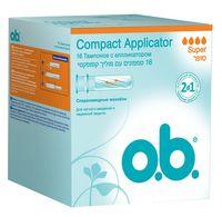 """Тампоны """"Compact Аpplicator. Super"""" (16 шт.)"""