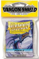 "Протекторы ""Dragon Shield"" (59х86 мм; 50 шт.; фиолетовые)"