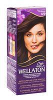 """Крем-краска для волос """"Wellaton"""" (тон: 4/0, темный шоколад)"""