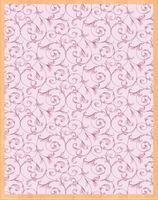 """Простыня хлопковая """"Завитки розовые"""" (220х210 см)"""