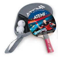 """Набор для настольного тенниса """"Sniper APS"""" (ракетка+2 мяча+чехол; 3 звезды)"""