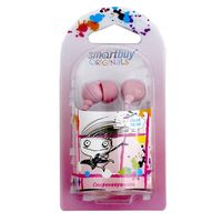 Наушники SmartBuy Color Trend (розовые)
