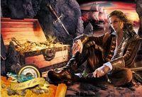 """Пазл """"Волшебный мир. Пират и сокровища"""" (250 элементов)"""