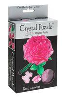 """Пазл """"3D. Розовая роза"""" (44 элемента)"""
