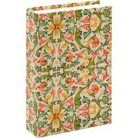 "Подарочная коробка ""Traditional"" (10,5х16х3,5 см; красно-зеленые элементы)"