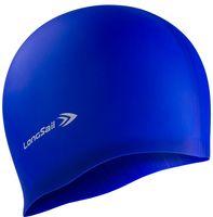 Шапочка для плавания (силиконовая; синяя)