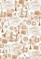 "Пленка-оверлей ""Путешествие по Англии и Франции"" (210х300 мм)"