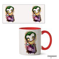 """Кружка """"Джокер из вселенной DC"""" (арт. 045, красная)"""