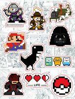 """Набор виниловых наклеек №163 """"Pixel Art"""""""