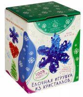 """Набор для выращивания кристаллов """"Елочная игрушка из кристаллов. Снежинка"""""""