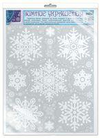 Зимние украшения на окна. Снежинки (Н-010020)