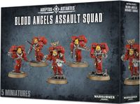 Warhammer 40.000. Blood Angels. Assault Squad (41-18)