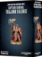 Warhammer 40.000. Adeptus Custodes. Captain-General Trajann Valoris (01-10)