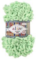 "Пряжа ""ALIZE. Puffy Fine №516"" (100 г; 14 м; пастельно-зеленый)"