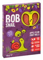 """Конфеты фруктовые """"Bob Snail. Яблоко-слива"""" (120 г)"""