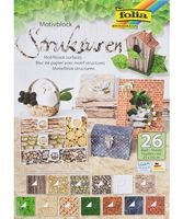 """Набор дизайнерского картона """"Природные текстуры"""" (240х340 мм; 26 листов)"""