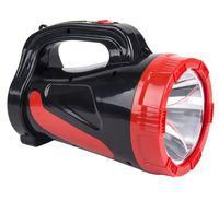 Аккумуляторный фонарь-прожектор 5W (черный)