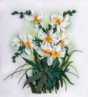 """Набор для вышивания """"Белые орхидеи"""""""